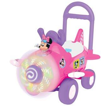 Disney Minnie PINK Plane Ride-On Toy!
