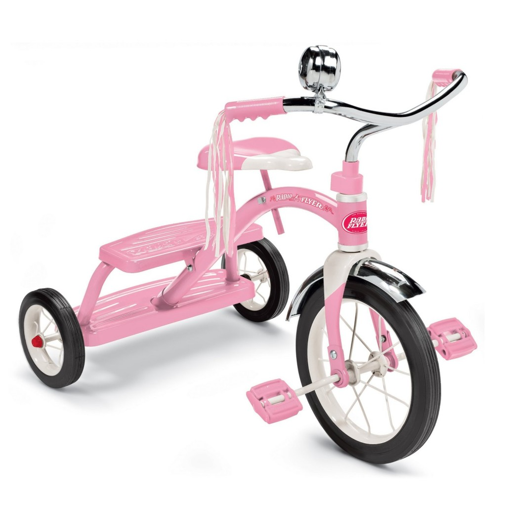 cute pink trike for 2 year old girls