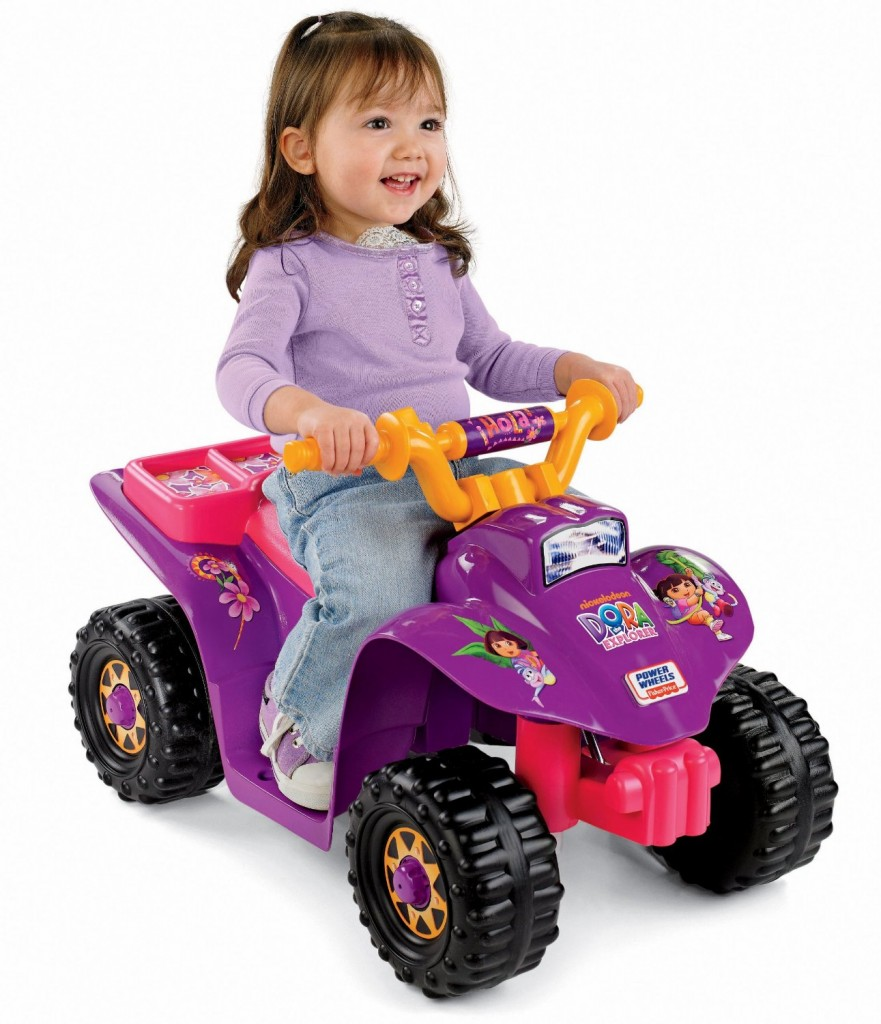 fun riding quad for 2 year old girls