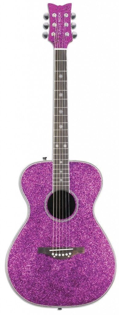 sparkly guitar for girls