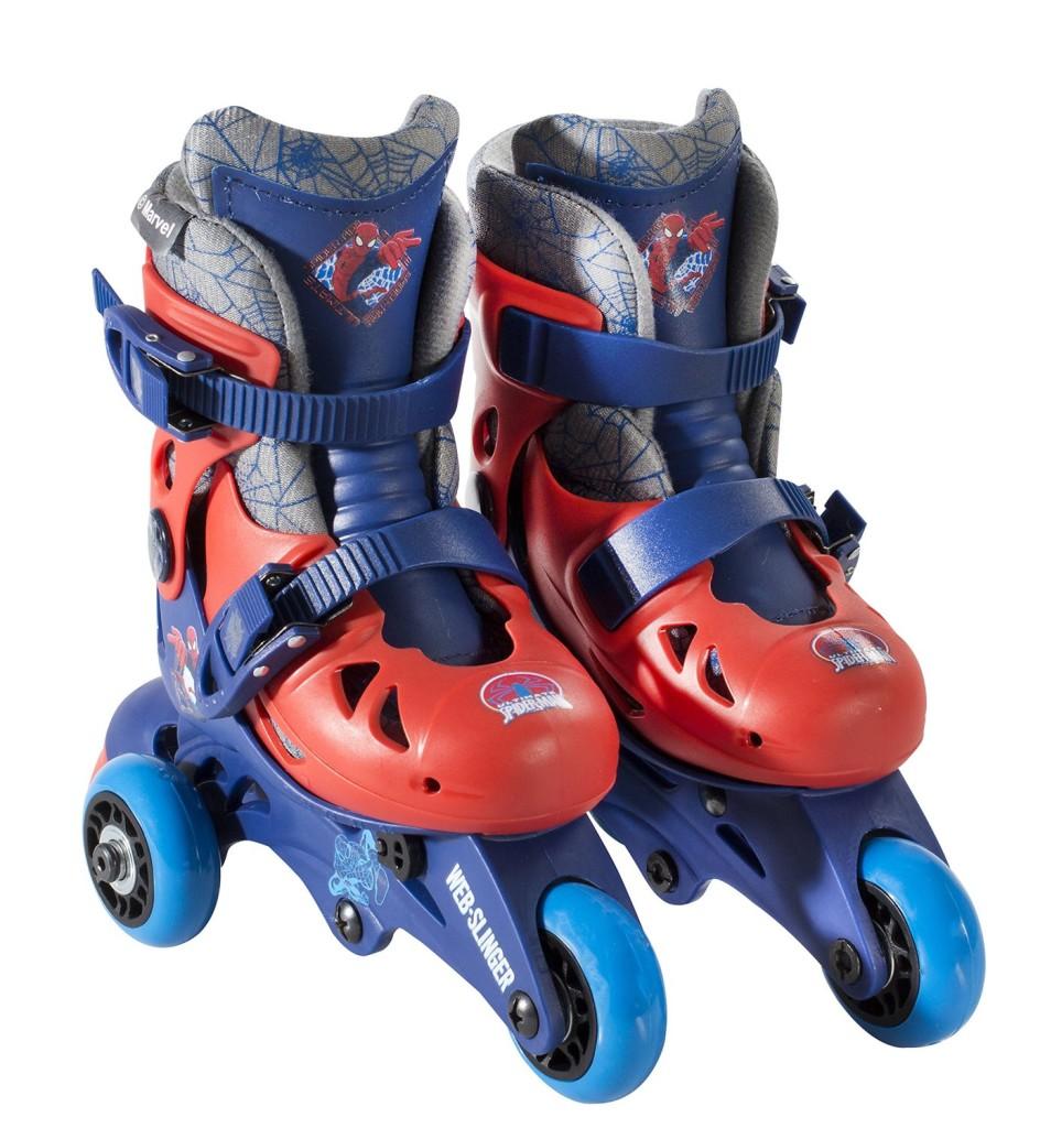 cute Spiderman roller skates for boys