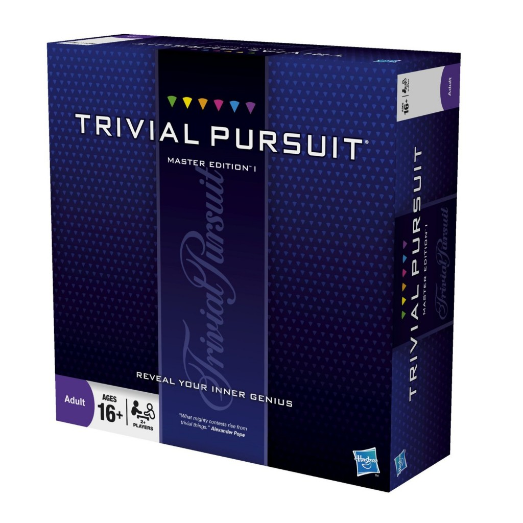Trivial Pursuit Game Master Edition