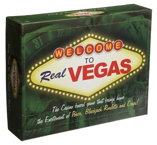Welcome To Real Vegas Board Game