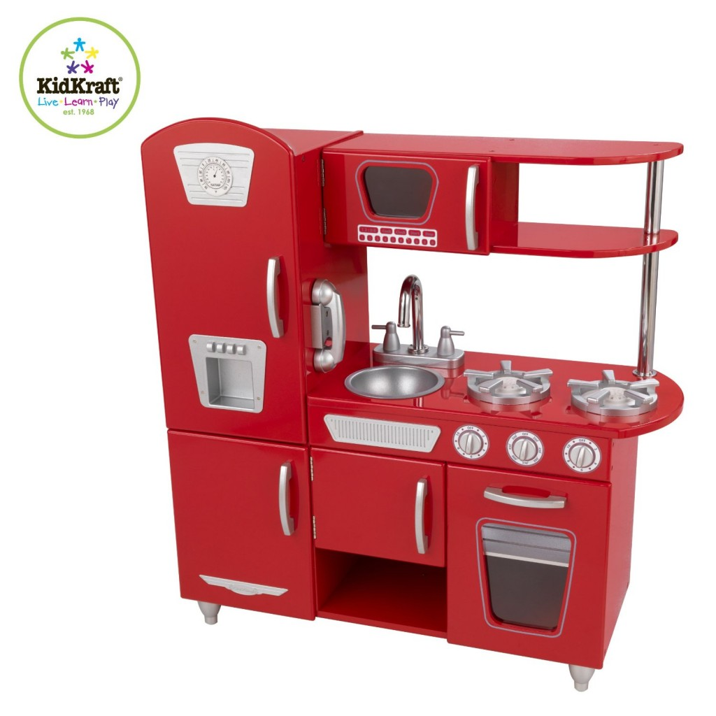 Retro Kids Kitchen: 14 Cute Toy Kitchen Sets For Kids Ages 2 And Up