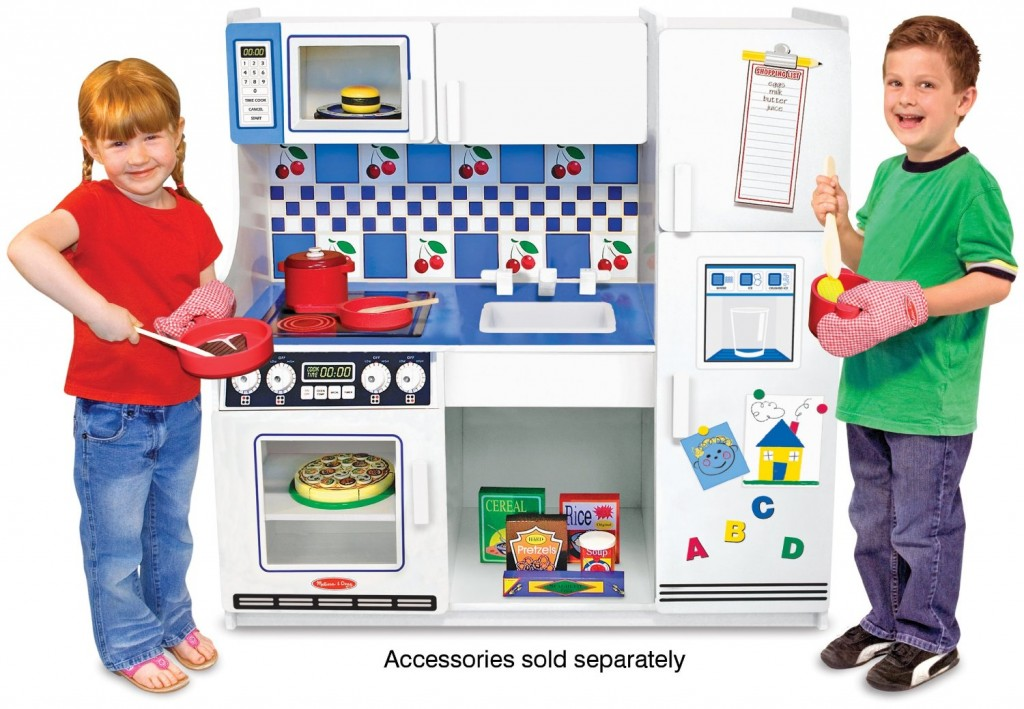 Beautiful White Toy Kitchen for Kids