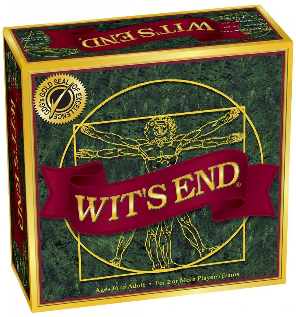 Wit's End Challenging Board Game