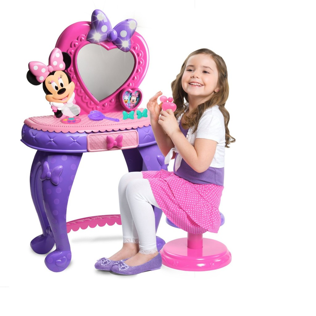 Minnie Mouse Vanity Table