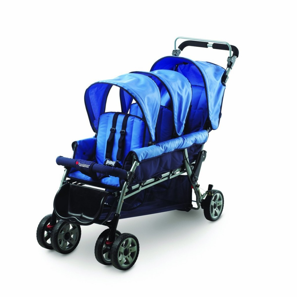 Affordable Stroller for Triplets