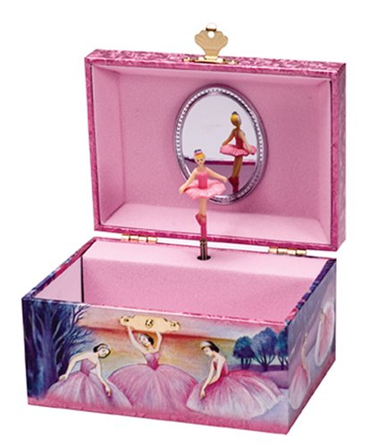 Cute Ballerina Jewelry Box