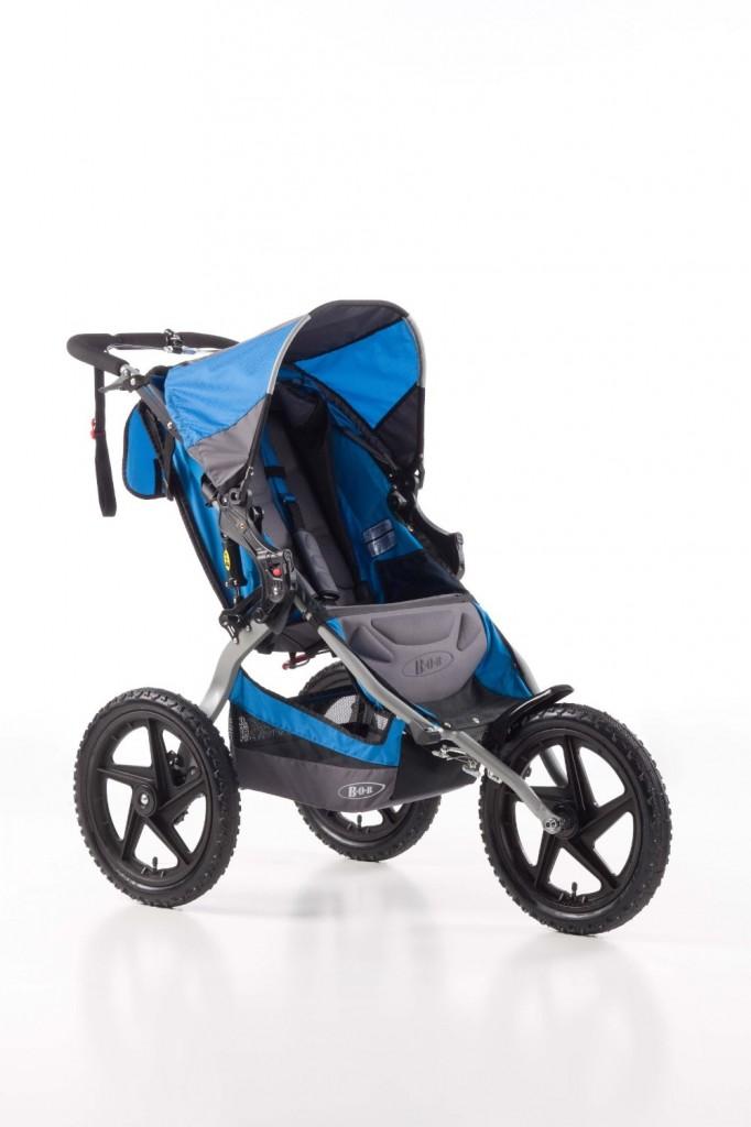BOB Sport Utility Single Stroller, Blue