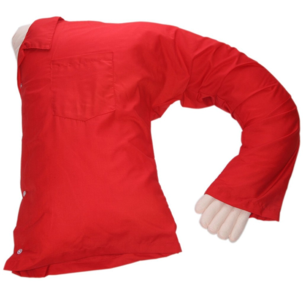 Boyfriend Pillow Red