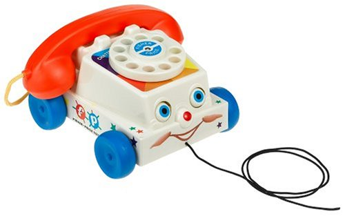 Fisher Price Classic Pull Toy for Toddlers Chatter Telephone