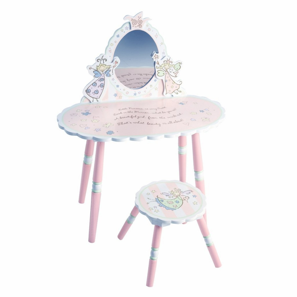 Attrayant Fairies Vanity Table For Toddler Girls