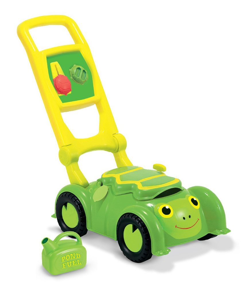 Cute Turtle Mower Push Toy