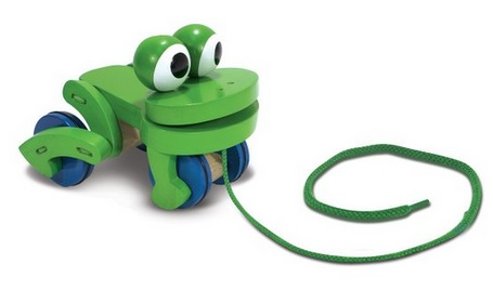 Happy Frog Pull Toy