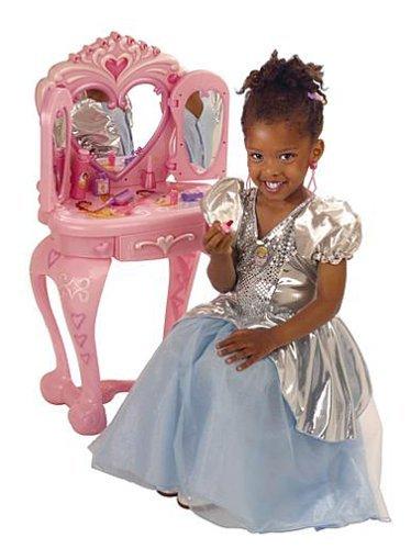 Disney Princess Vanity Table with Stool