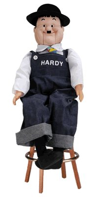 Affordable Oliver Hardy Ventriloquist Doll