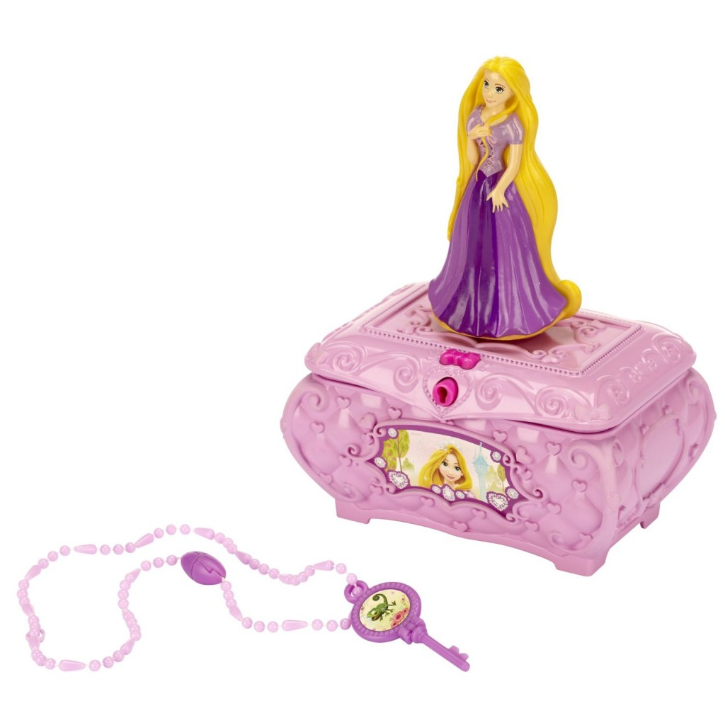 Disney Princess Rapunzel's Musical Jewelry Box
