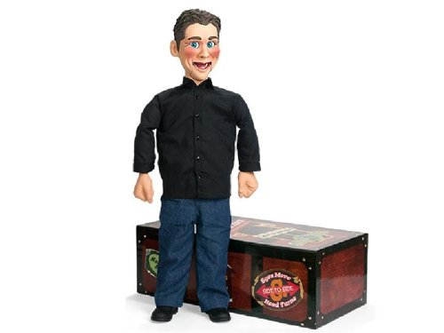 "Jeff Dunham ""Little Jeff"" Actual Working Ventriloquist's Dummy with DVD"
