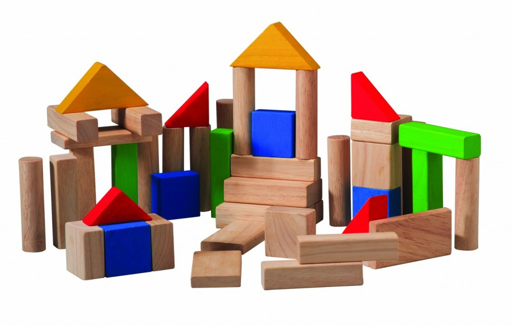 classic wood building blocks