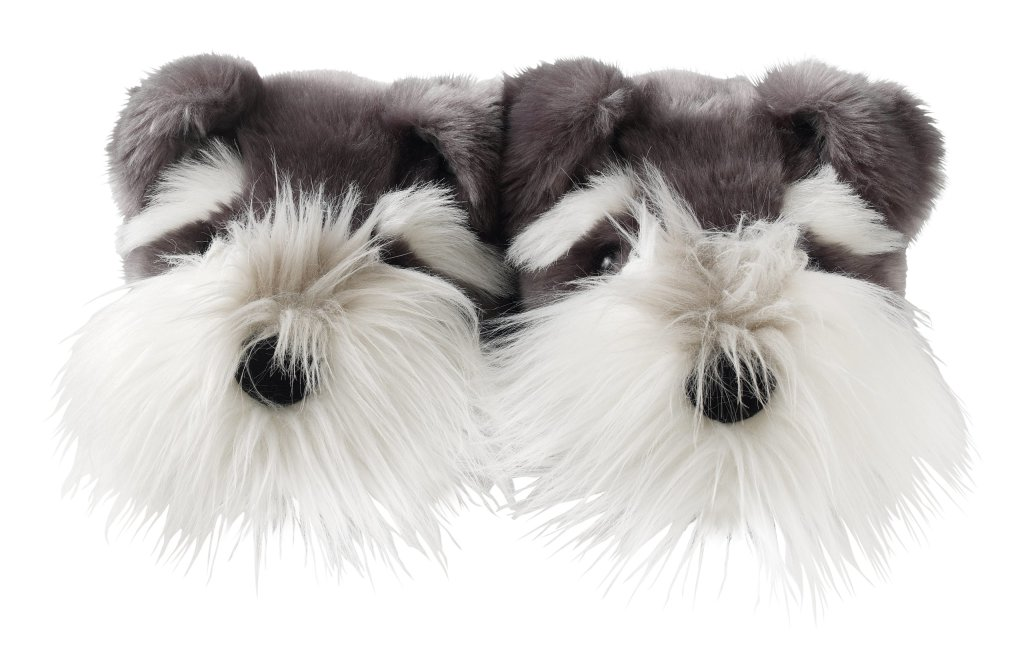 adorable  Schnauzer Dog Slippers for women