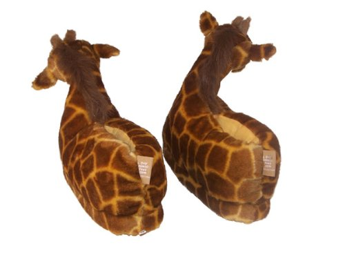 cute animal slippers giraffe