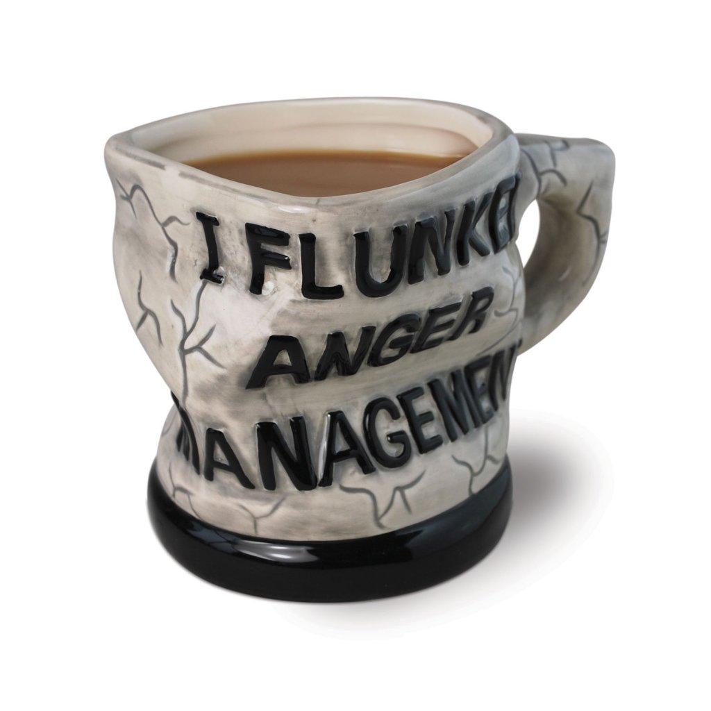 Anger Management Ceramic Mug