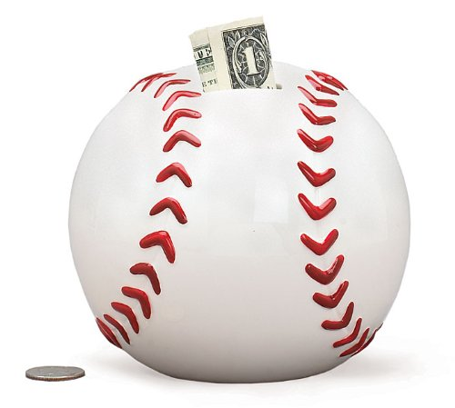 Baseball Shape Piggy Bank For Boys