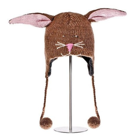 bunny fleece hat