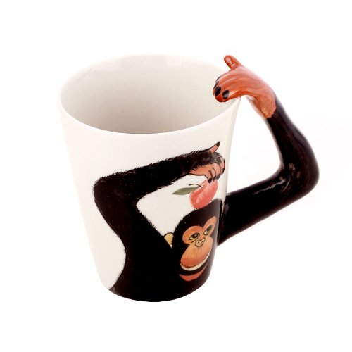 fun 3D animal coffee mugs