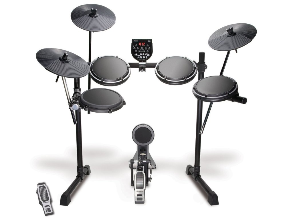Five-Piece Electronic Drum Set