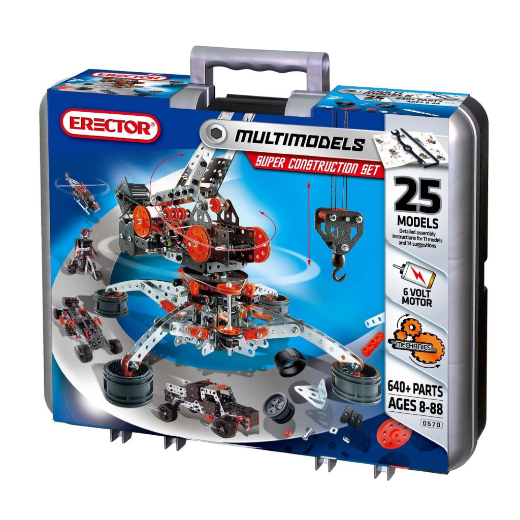 Cool Erector Super Construction Set
