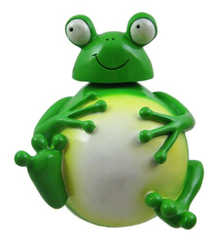 Funny Fat Frog Piggy Bank