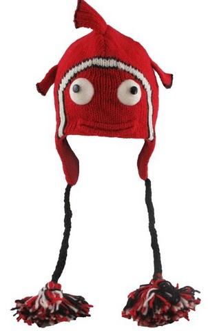 Blowfish Red Wool Hat