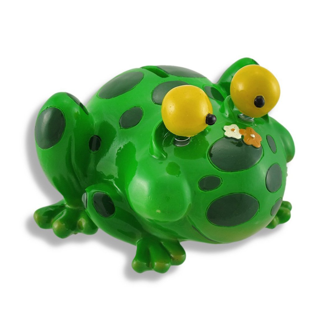 fun frog piggy bank