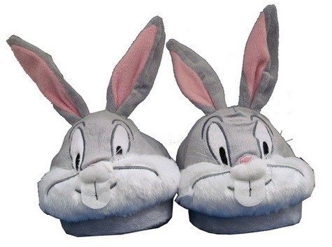 Bugs Bunny plush slippers