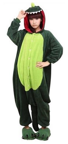 Fun Dinosaur Kigurumi Pajamas