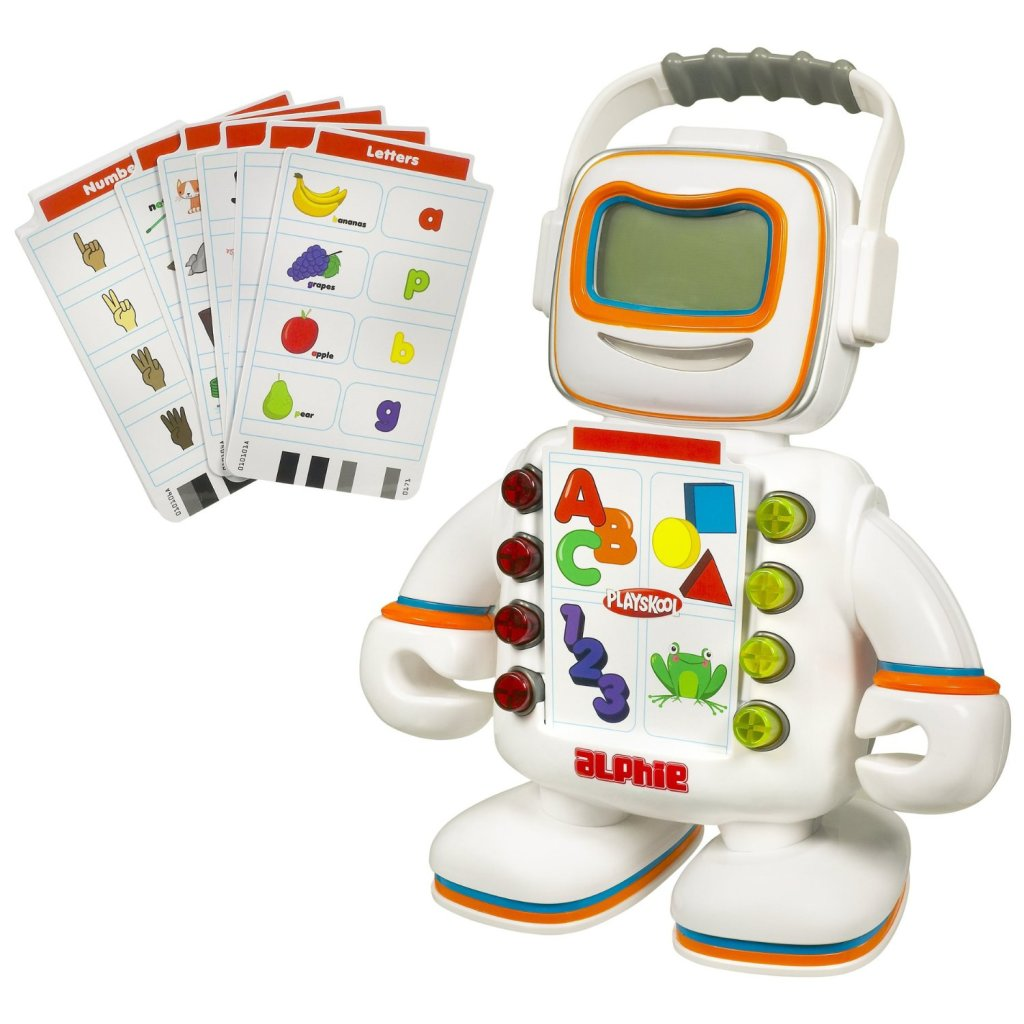 fun robot shape learning computer for kids