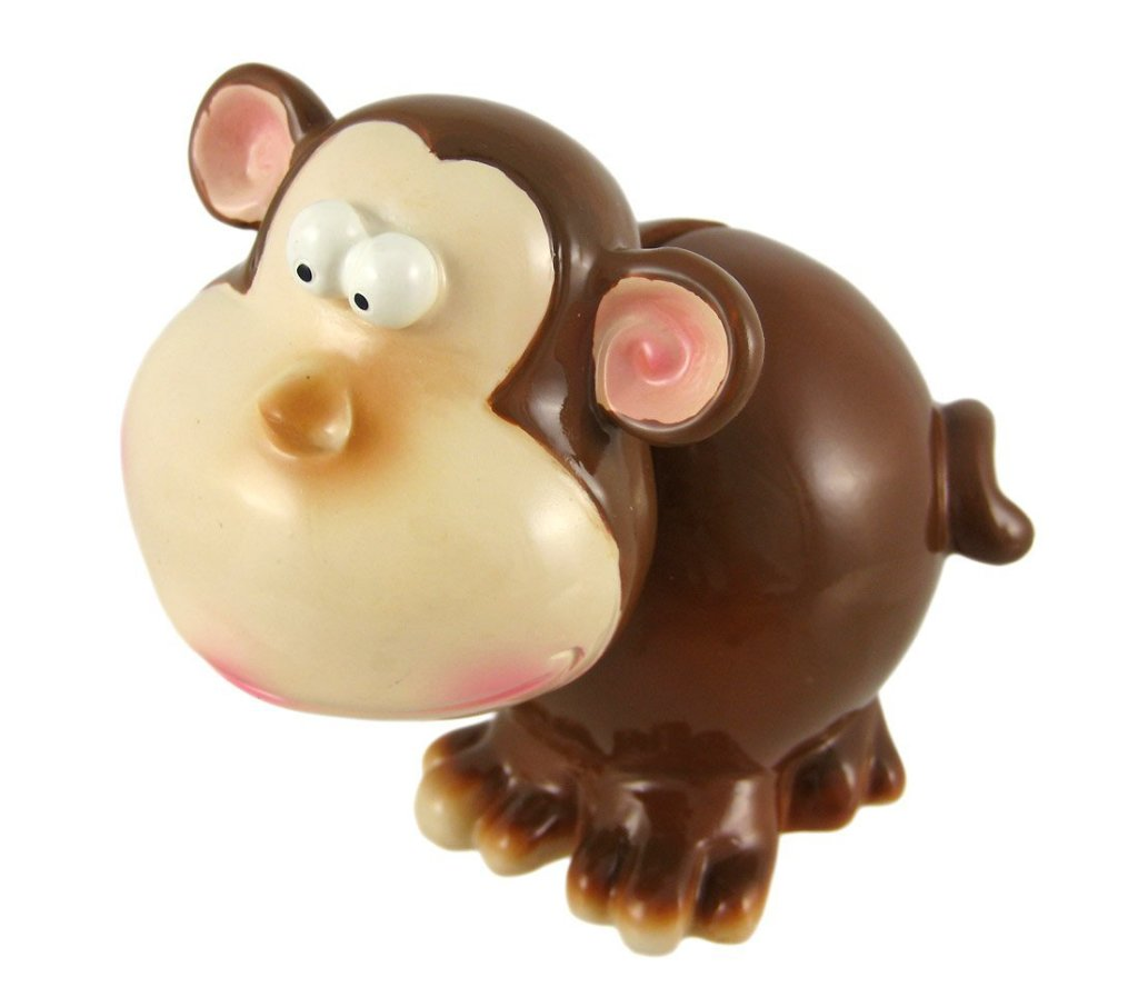 funny monkey piggy bank