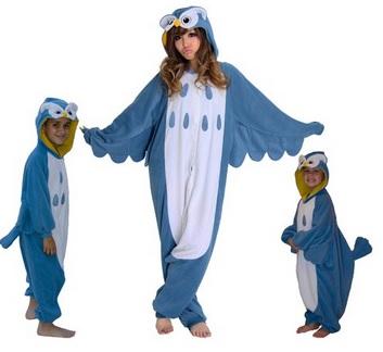 Owl Kigurumi costume pajamas