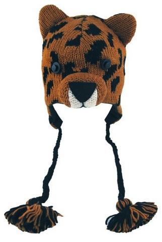 Cool Leopard Face Wool Hat