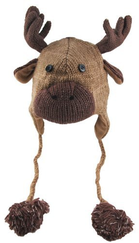 cool knit animal hats with ears