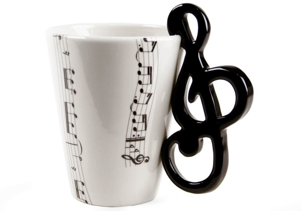 Cool Musical Note Coffee Mug