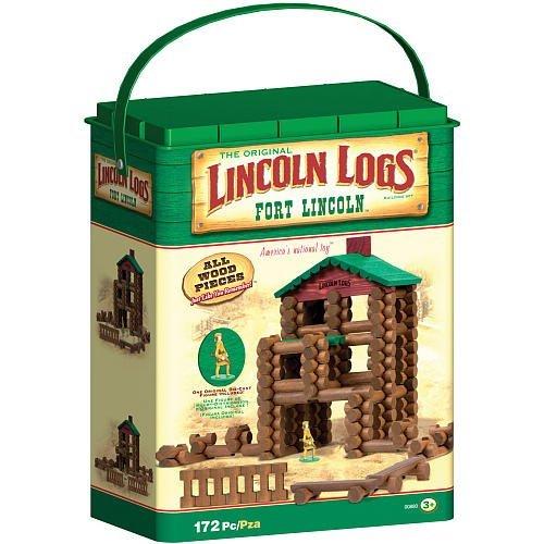 Lincoln Logs Fort Building Set