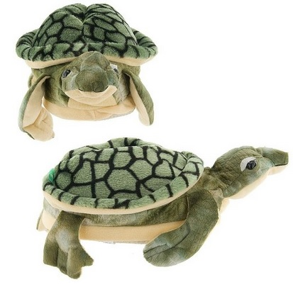 adorable fun Sea Turtle Slippers for Kids, Women and Men