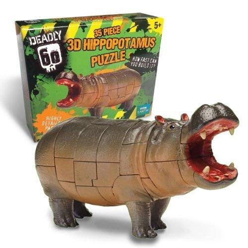 3d hippo puzzle