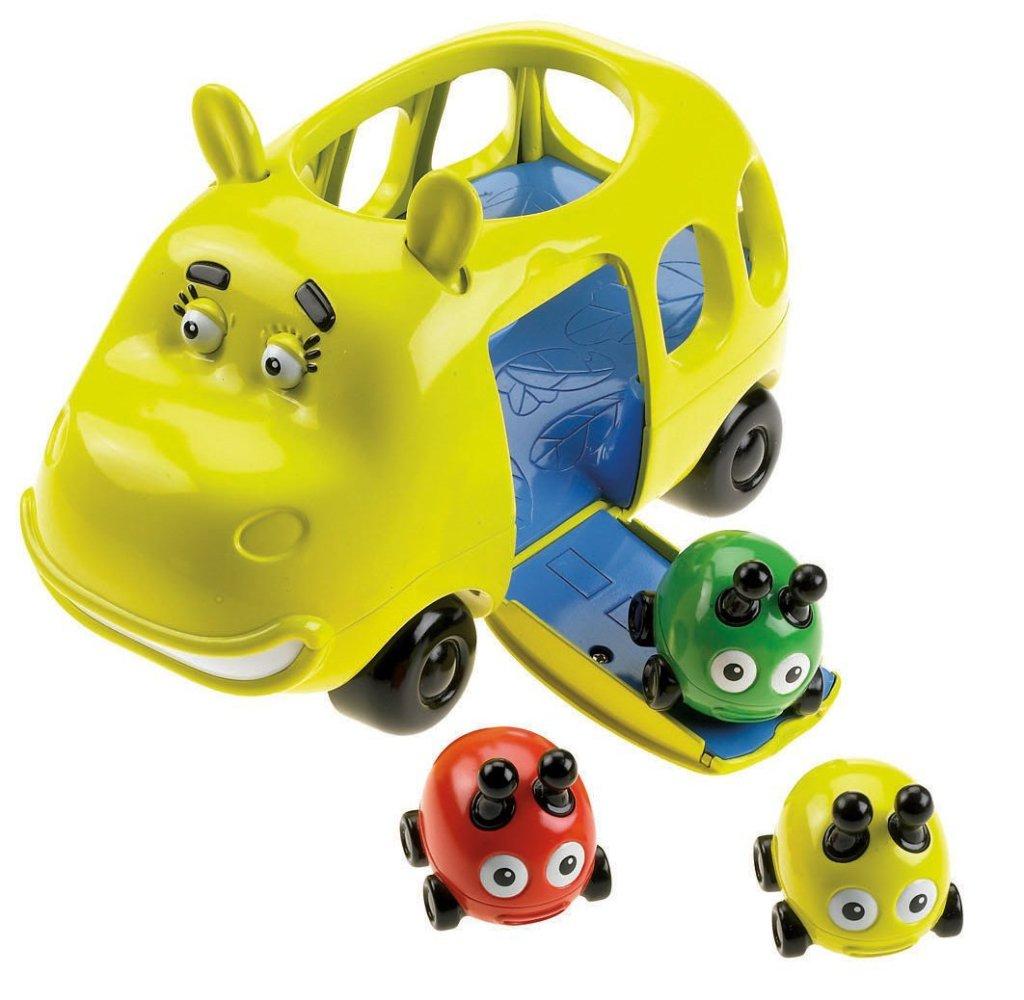 cute hippo shaped bus