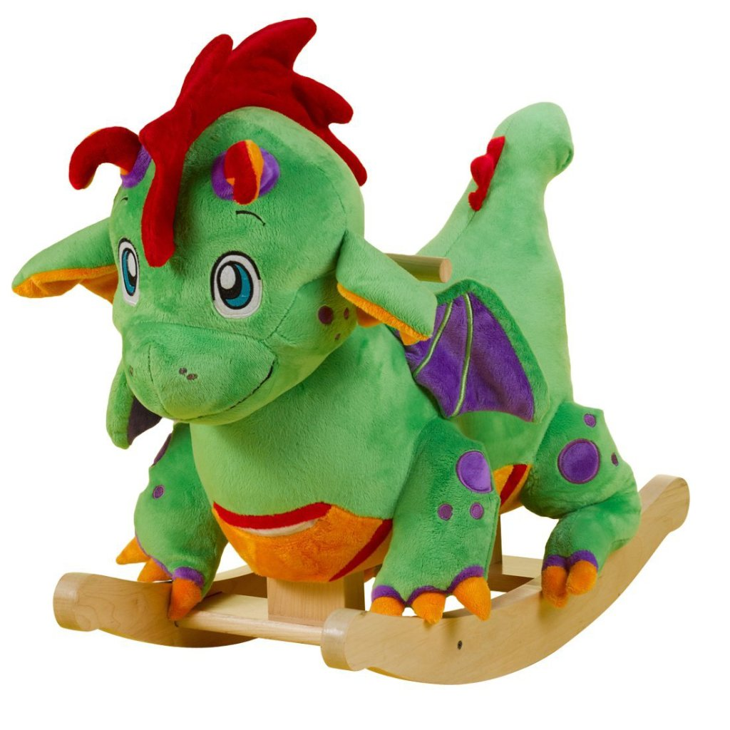 Cutest Musical Dragon Rocker for Toddlers