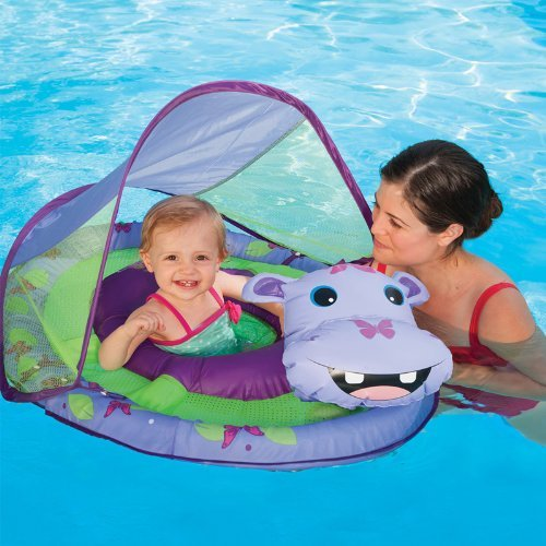 cute hippo spring float for babies