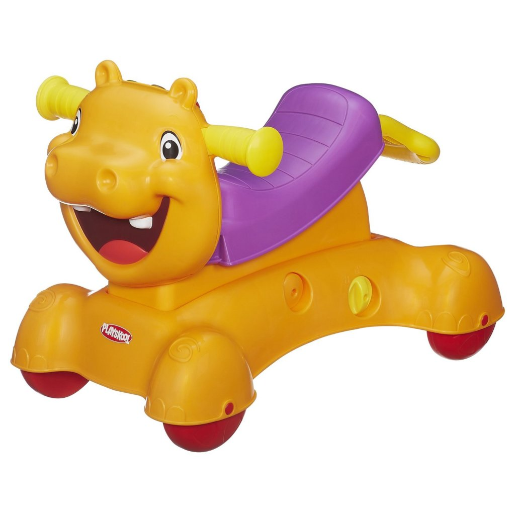 riding hippo toy for toddlers